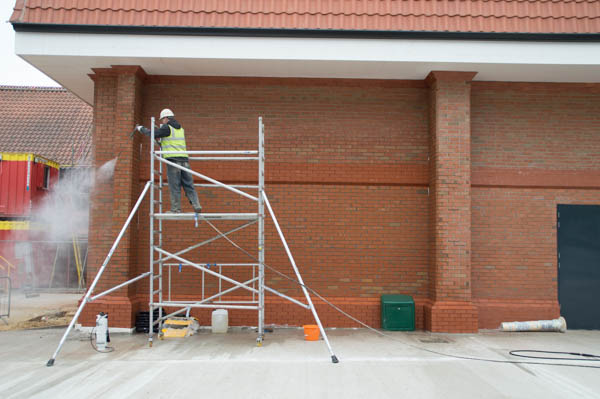brick cleaning, yorkshire, lincolnshire, nottinghamshire, derbyshire, uk