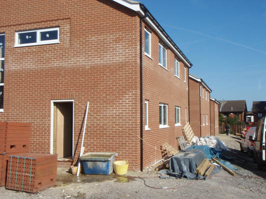 New Build Brick Cleaning Yorkshire, Lincolnshire & Nottinghamshire